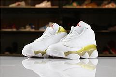 乔丹AirJordan童鞋aj13AJ13乔丹13代乔13乔丹13篮球鞋童鞋大童AirJordan13乔13白金2835