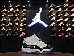乔丹AirJordan童鞋大童aj11AJ11乔丹11代乔丹11乔11高帮篮球鞋童鞋大童AirJordan11乔11高帮白黑2835