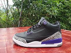 AIRJORDAN3乔丹3代黑紫男鞋4047