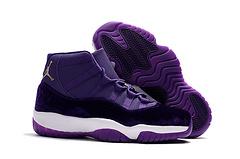 AJ11乔11乔丹11代紫丝绒VelvetHeiressPurple官方正确版印花4047