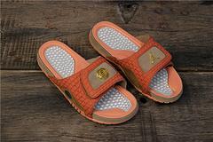 乔丹AirJordan超A乔丹13代系列拖鞋乔丹拖鞋AJ拖鞋JORDANHYDROXIIIRETRO货号6849415200乔13兵马俑拖鞋4045