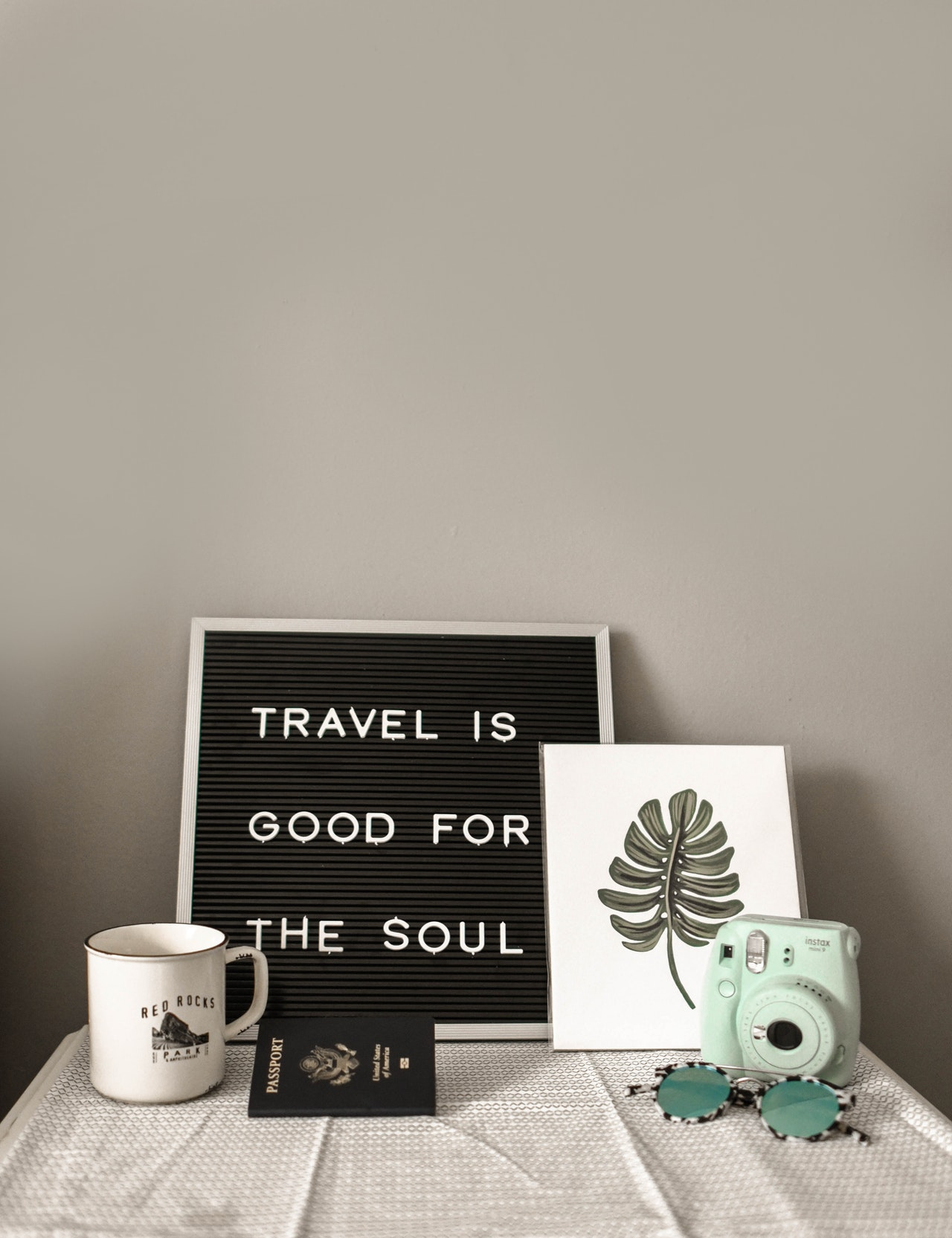Travel is good for the soul.