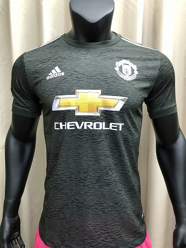 20 21 Season Manchester United Away Black Color Soccer Jersey Top Thailand Quality Man United Football Shirts Player Version 18 19 Season Manchester United Away Pink Color Soccer Jersey 16 00 Footballinbox Top Quality
