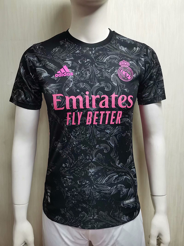 20 21 Season Real Madrid Third Black Color Soccer Jersey Top Thailand Quality Real Madrid Football Shirts Player Version 18 19 Season Real Madrid Third Red Color Soccer Jersey 16 00 Footballinbox Top Quality