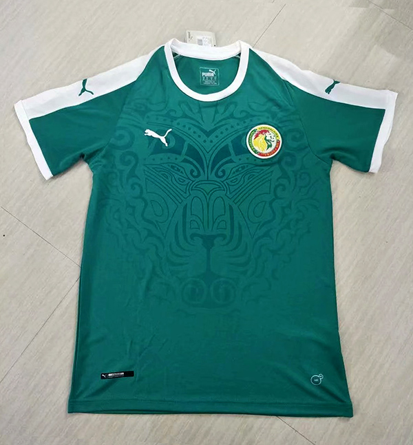 2018 World Cup Senegal Home Green Color Soccer Jersey Top Thailand ... 2117ae903
