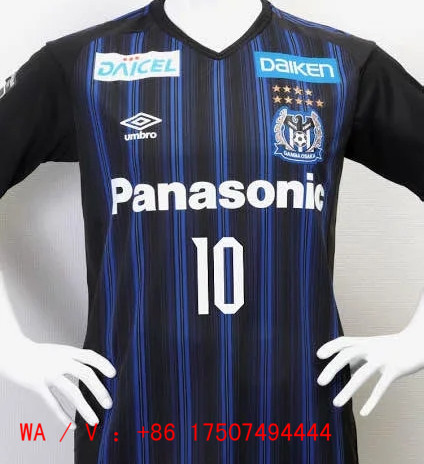 20 21 Season Gamba Osaka Home Blue Color Soccer Jersey Top Thailand Quality Gamba Osaka Football Shirts 2018 World Cup Argentina Home Blue White Color Long Sleeves Soccer Jersey 15 00 Footballinbox Top