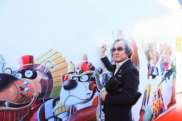 《超级高达之父•大河原邦男日系机甲设计大展》  媒体发布会顺利召开!大河原邦男受邀参加!