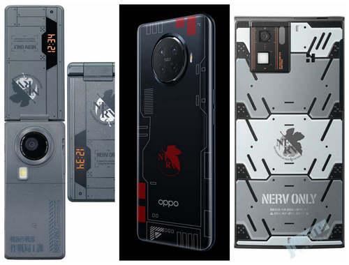 持币围观OPPO EVA联动,回顾历史上的新世纪福音战士款手机