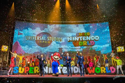 """日本环球影城开启""""超级任天堂世界"""",去东京奥运会和马里奥玩游戏!"""