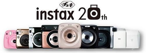 SQ20、新配色SQ6整裝待發,富士膠片instax Checky 20周年紀念活動啟動