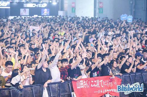 新国际博览中心六馆齐发,BiliBili World 2019上海站开幕