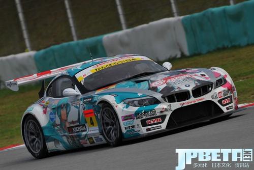 日本SUPER GT 2011初音賽車初次奪冠 烏賊娘賽車位列第三