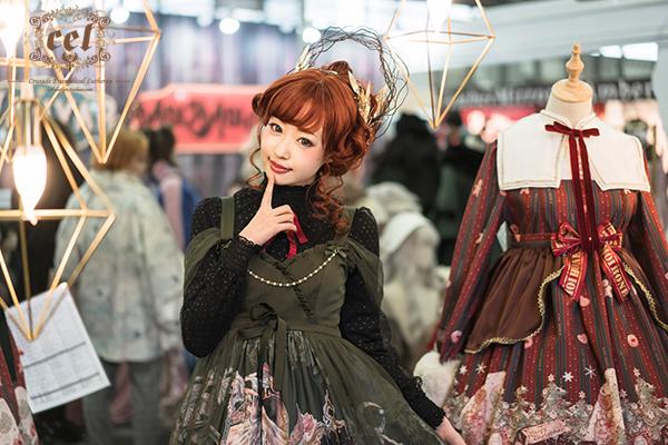 木村优:是漂亮的洛丽塔模特,更是原宿时尚标志的可爱大使