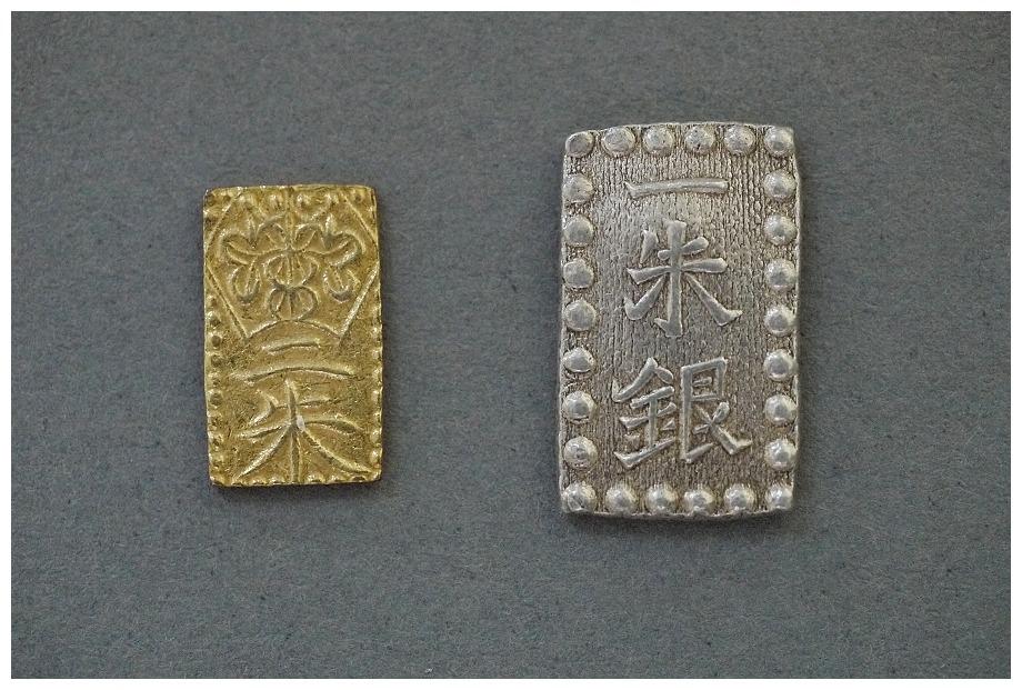 日本 万延二朱金 1860年