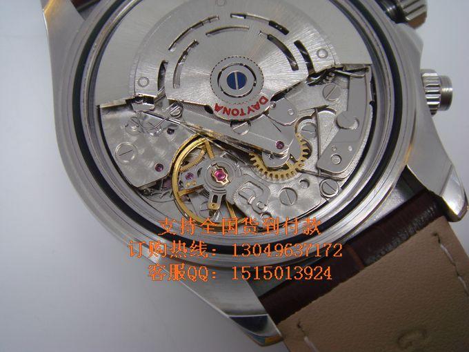 rolex勞力士男士皮帶手表 宇宙設計型 迪通拿 瑞士機芯 貨高清圖片