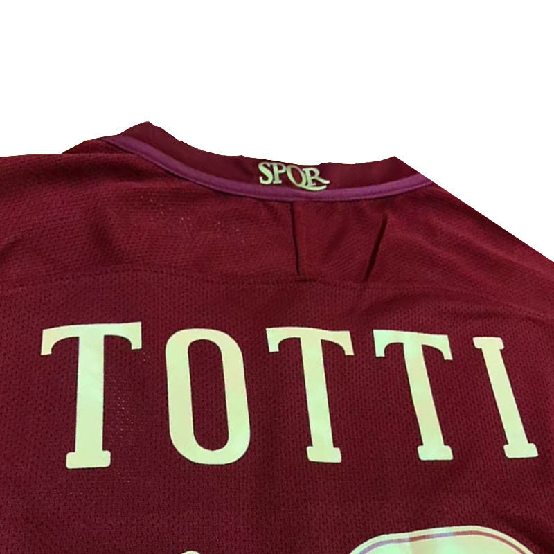 detailed look b3126 eb10b 2016-17 ROMA Derby SPQR Home Jersey [2016-17 ROMA Derby SPQR ...