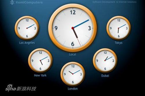 屏保推薦:世界時鐘屏幕保護程序(適合經常出國人士) | 愛軟客