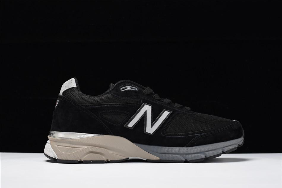 """40-44新百伦New Balance in USA M990V4代系列美产血统复古运动跑步鞋""""黑灰""""990BK4 ae1fec2c25f2"""