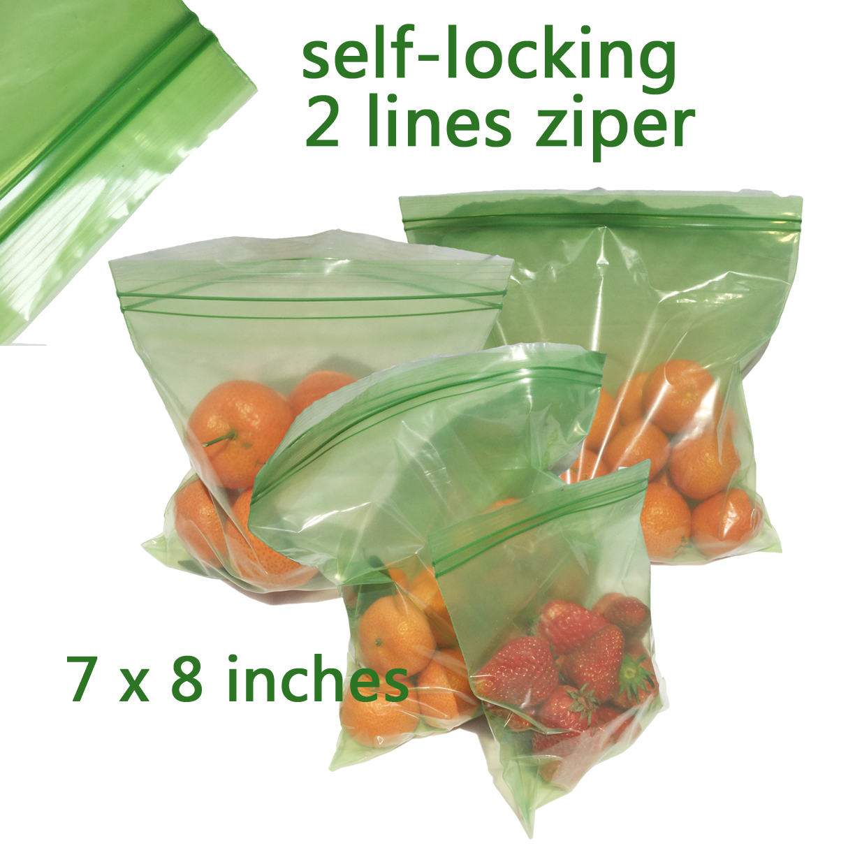 Green Bags Storage Vegetable Fruits