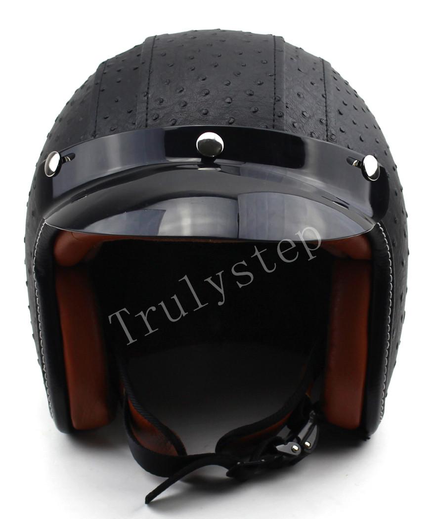 moto jet half face casque scooter chopper visi re lunettes. Black Bedroom Furniture Sets. Home Design Ideas