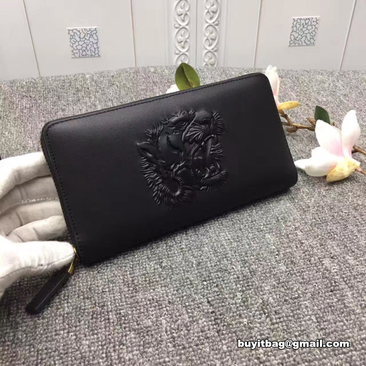 06488fe5e7c9cf high quality discount Gucci mens Tiger embossed zip around wallet 451182 on  sale