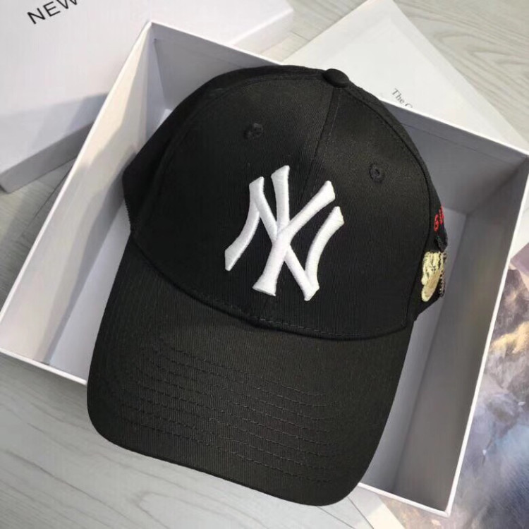 ef477113bfb5 Best quality discount cheap Gucci Baseball cap with NY Yankees ...