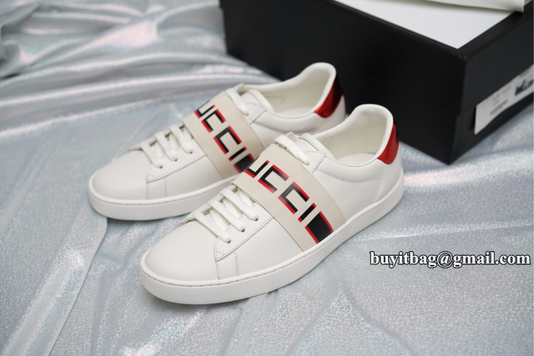 be60681c737 Best quality discount cheap Gucci Mens stripe leather sneaker 523469 ...