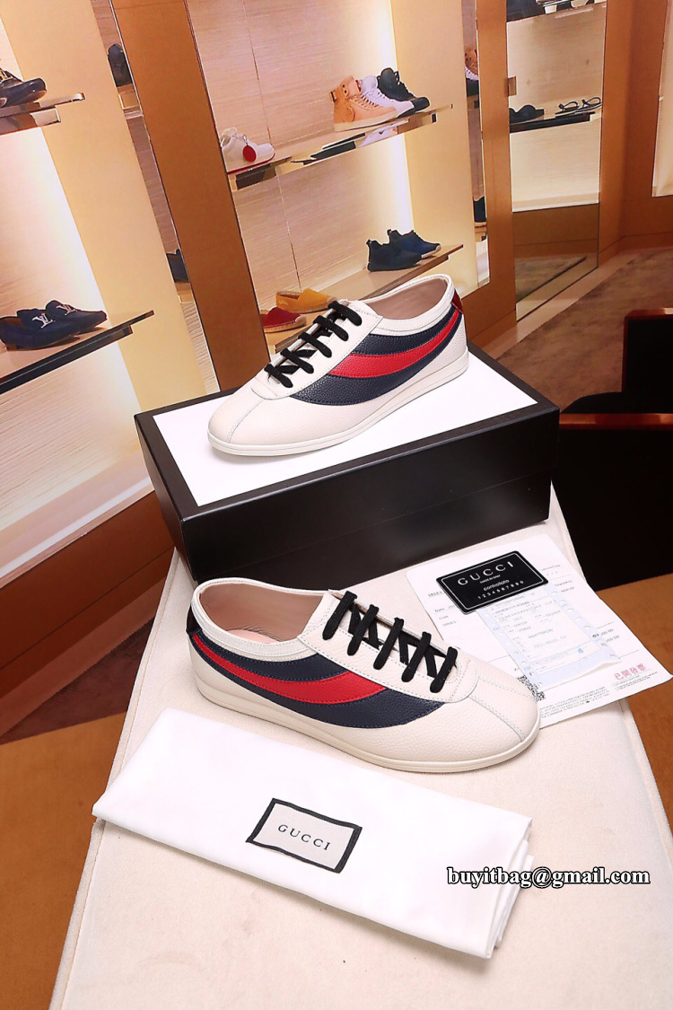 4eaf2b9fef7 Best quality discount cheap Gucci Mens Falacer sneaker with Web ...