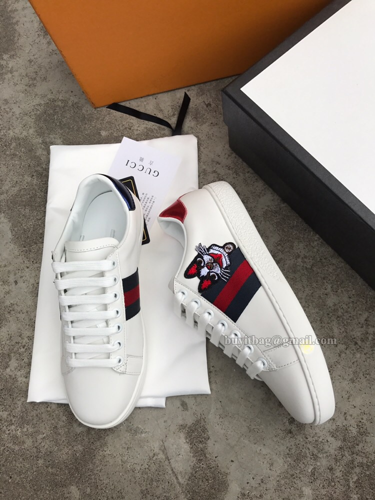 cbf61c50bc7 Best Quality Gucci Women Ace Embroidered Boston Terrier. Women running shoes  ...