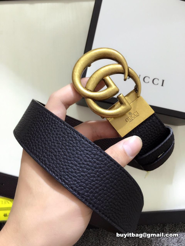 deba052f171 Best quality discount cheap Gucci Reversible leather belt with ...