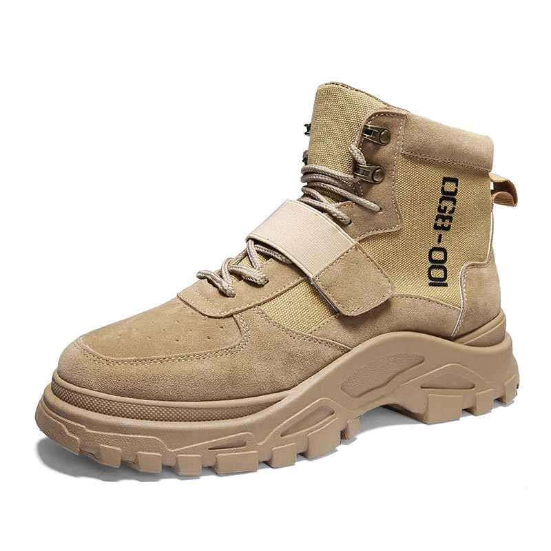 Men Shoes Martin Boots for Hiking Casual Youth Fashion