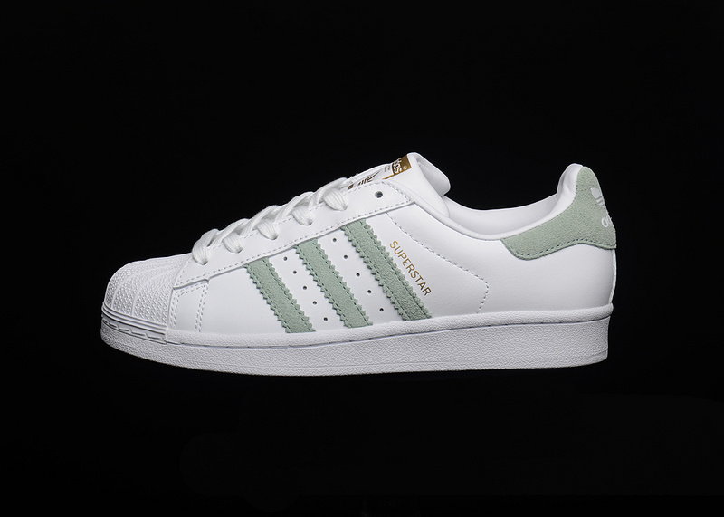 new product 656a1 ac66a Adidas Superstar Adidas 2018 White Green Size 36-44 For ...