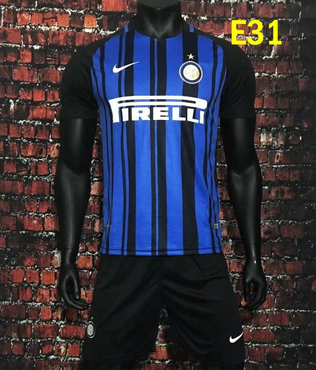 2017/2018 inter Milano home away soccer jersey maillot