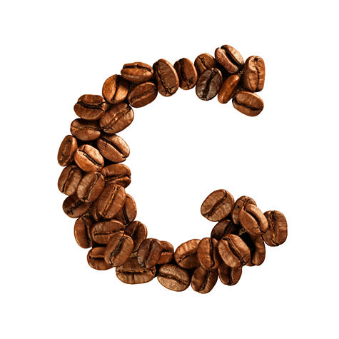 咖啡豆字体 咖啡字体 字体设计 英文字母 字母设计 英文设计 JPG1147