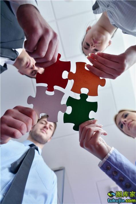商务人士 上班族 商务白领 合作 商务合作 团队 JPG11