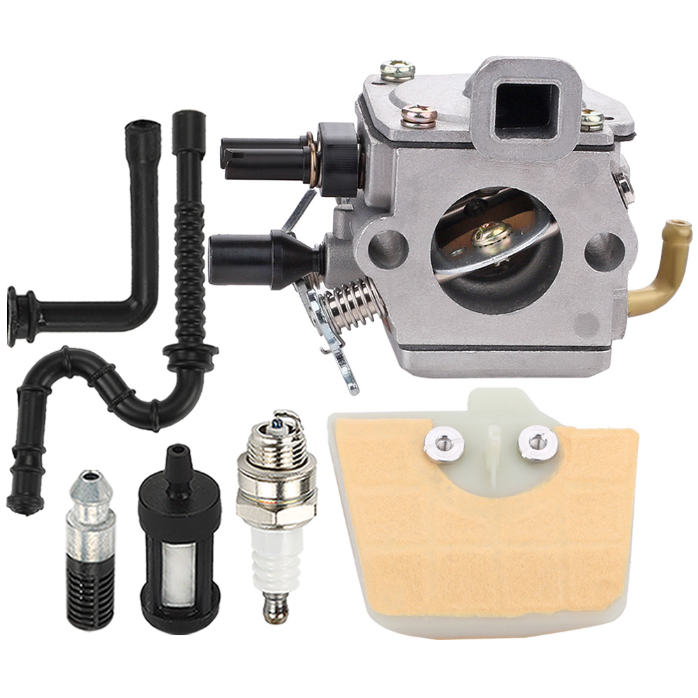 Carburetor Parts Air Fuel Filter Fits for STIHL MS340 MS360 034 036 Chainsaw