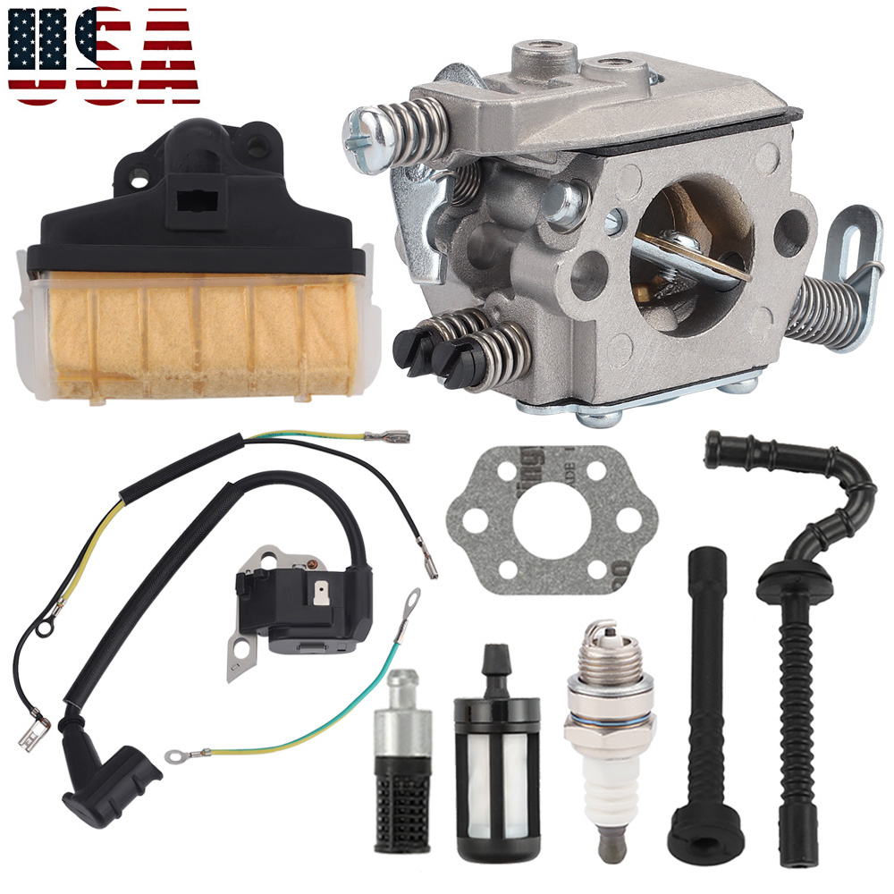 Carburetor Ignition coil Kit Fit Stihl 021 023 025 MS250C MS250 MS210 MS230