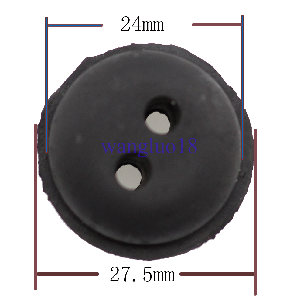 2 Hole Fuel Gas Tank Rubber Grommet Replacement for Stihl Husqvarna Homelite 2PC