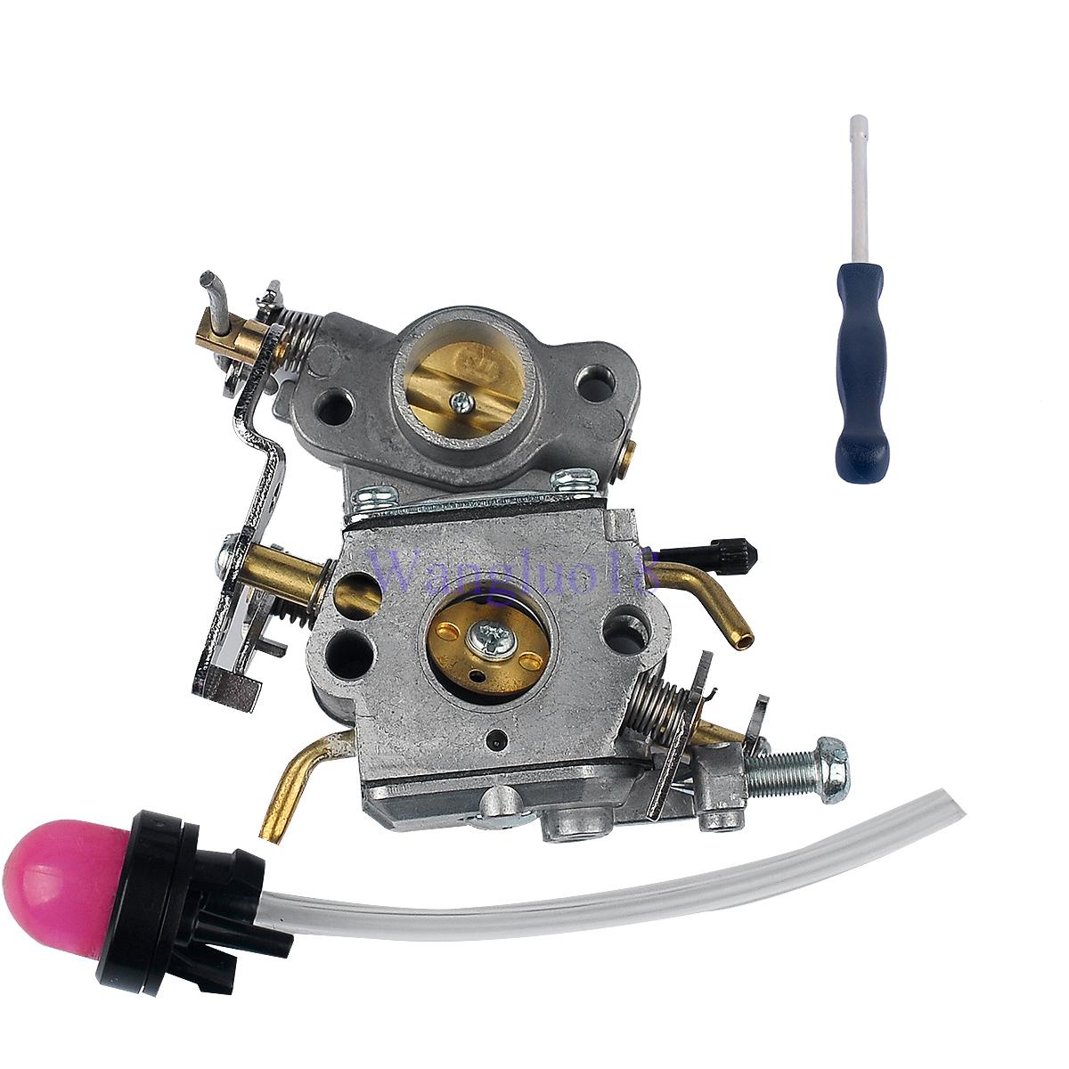 Details about For Poulan Chainsaw Carburetor 545070601 Zama c1m-w26  W/primer bulb fuel line