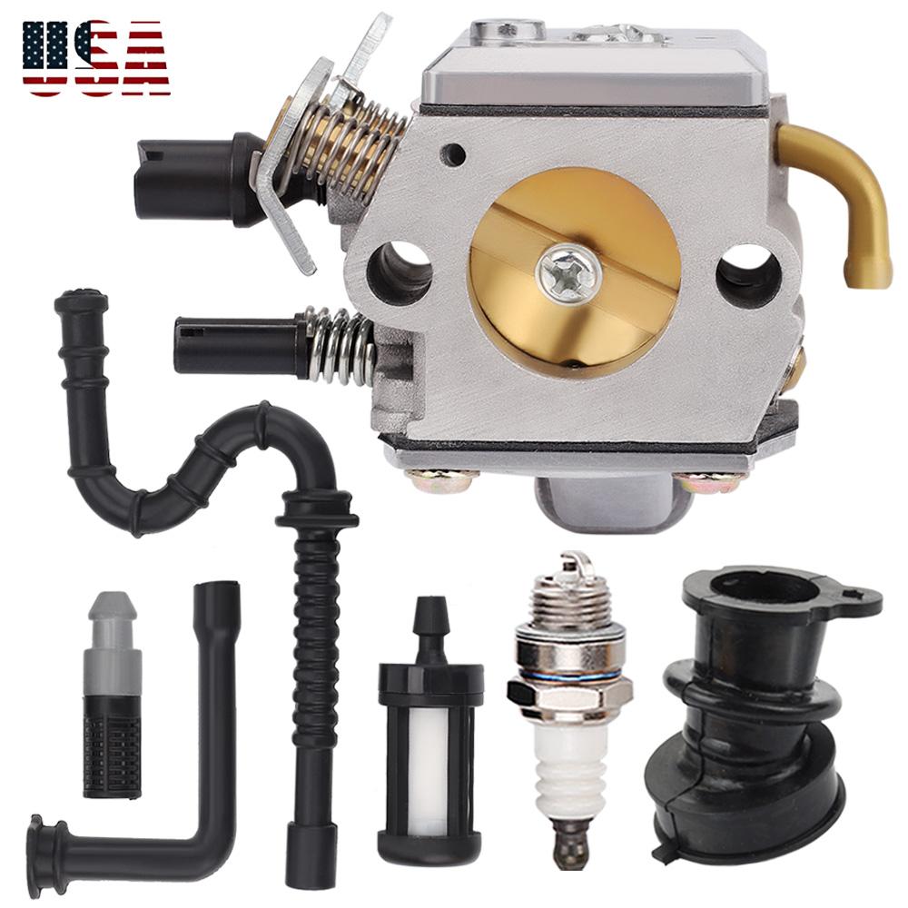 Carburetor Kit for STIHL MS340 MS360 034 036 Zama C3AS39B 1125-120-0615 Chainsaw