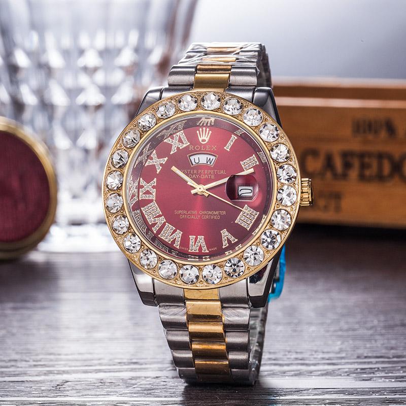 PRETTY DIAMOND Rolex LV MEN WOMEN WATCH WATCHES #2