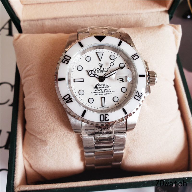 White MEN Rolex LV AUTOMATIC WATCH WATCHES #2