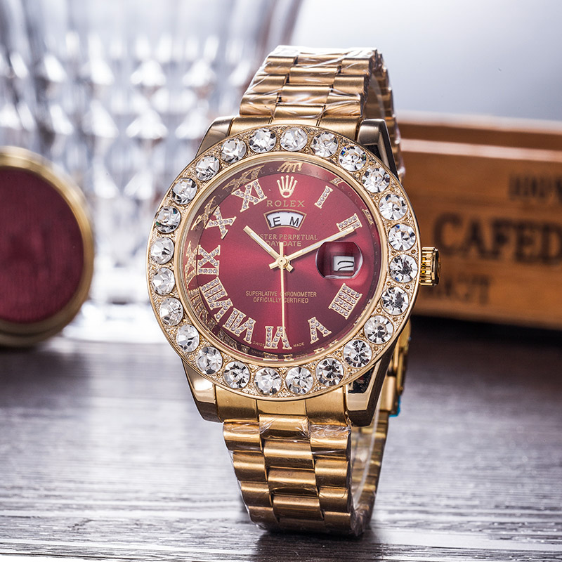PRETTY DIAMOND Rolex LV MEN WOMEN WATCH WATCHES #1