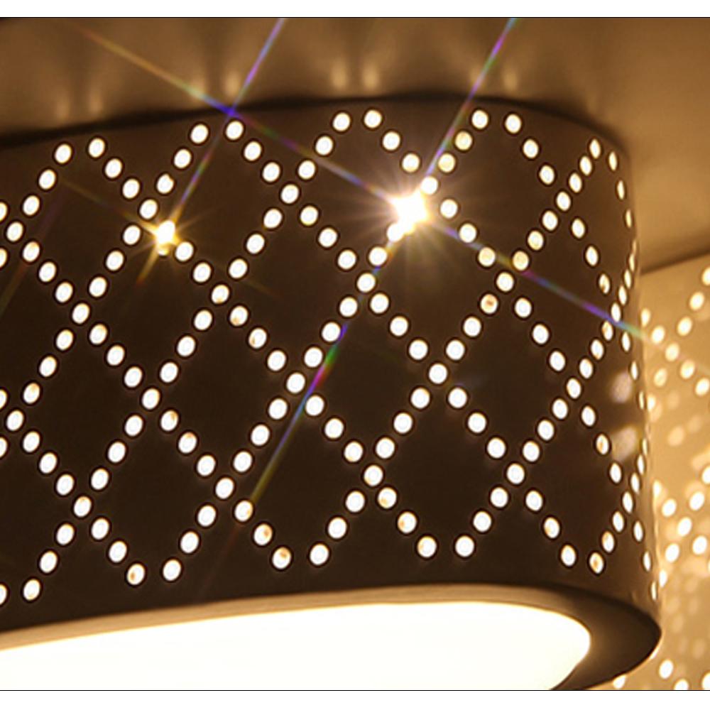 Led 24w deckenleuchte wohnzimmer deckenlampe dimmbar wandlampe k chen flur b ro ebay - Led buro deckenleuchte ...