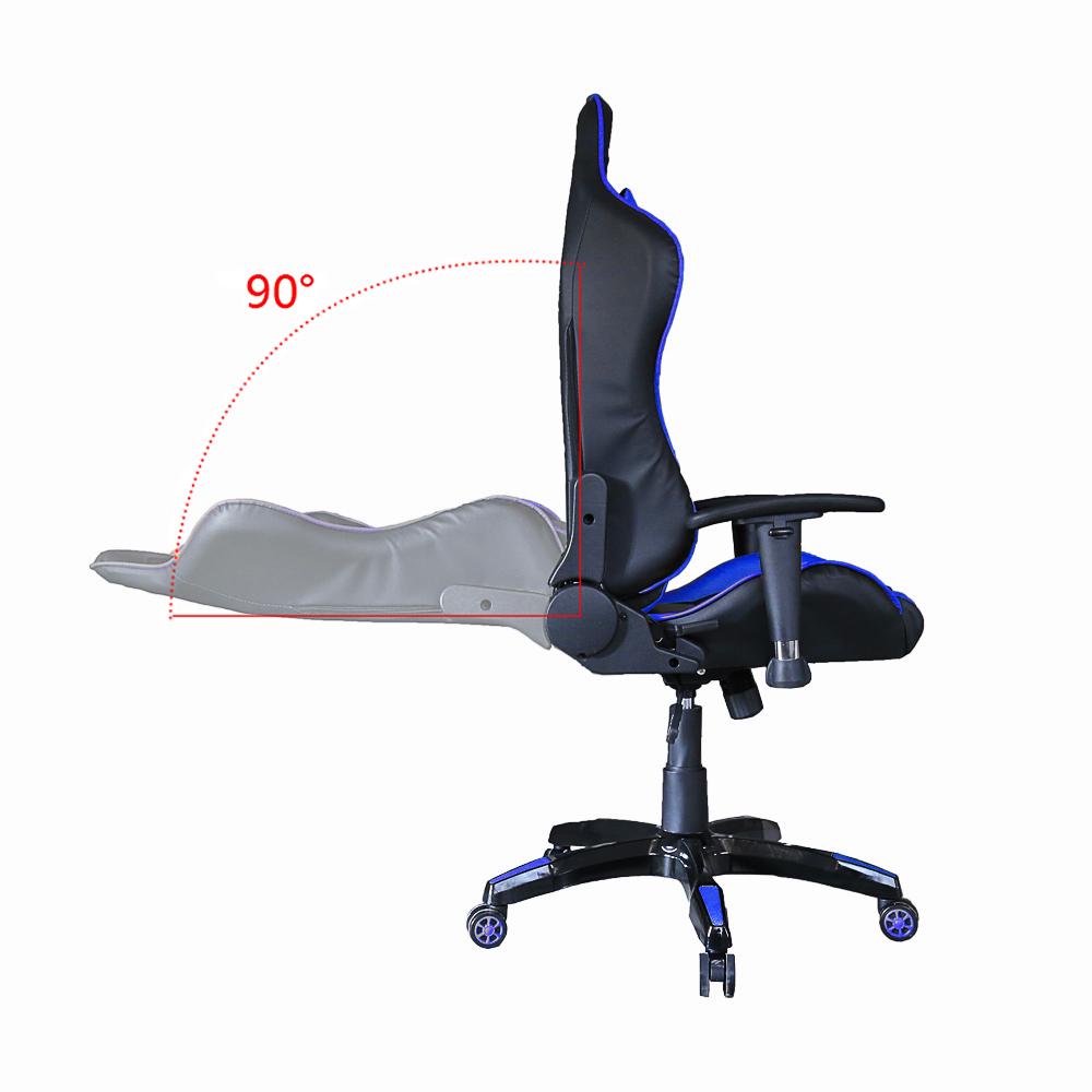 racing stuhl drehstuhl b rodrehstuhl computerstuhl gaming stuhl wippmechanik ebay. Black Bedroom Furniture Sets. Home Design Ideas