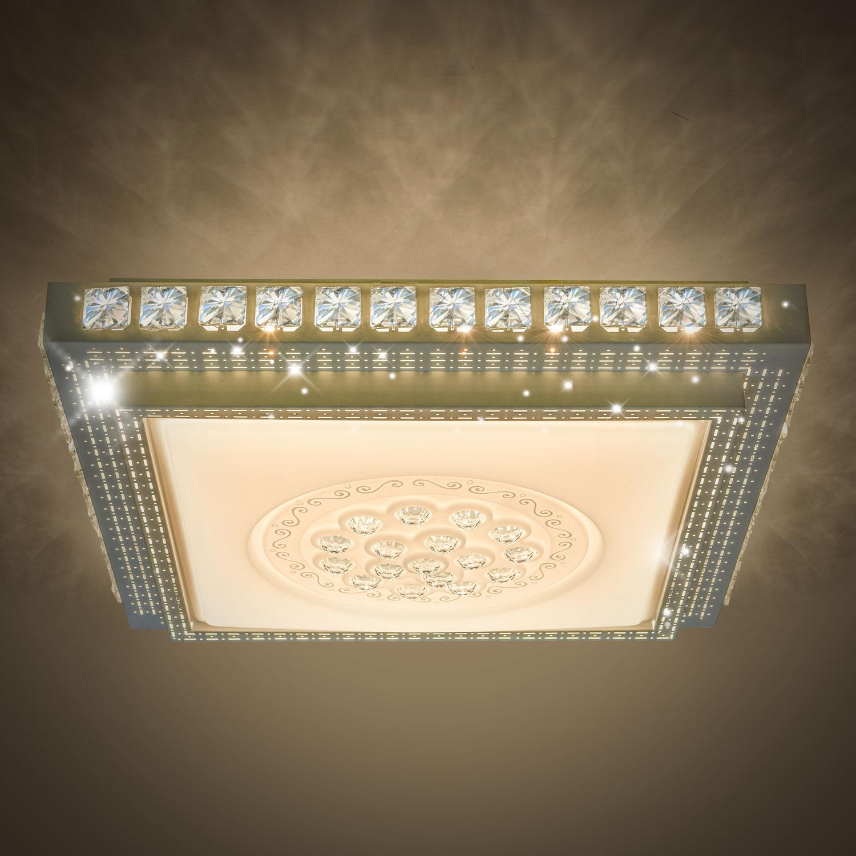 led kristall deckenleuchte schlafzimmer deckenlampe. Black Bedroom Furniture Sets. Home Design Ideas