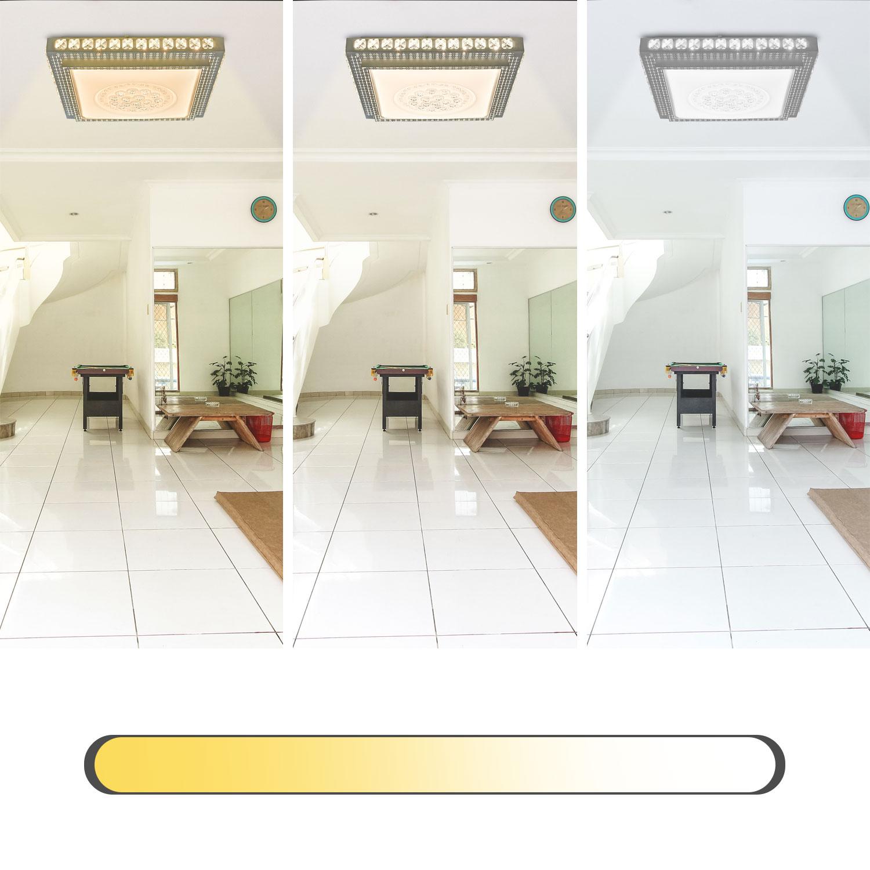 LED Kristall Deckenleuchte Schlafzimmer Deckenlampe