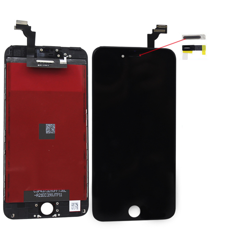 f r org iphone 6 plus schwarz lcd display 5 5 touchscreen. Black Bedroom Furniture Sets. Home Design Ideas