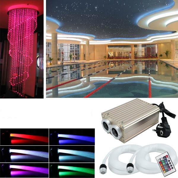 rgb led sternenhimmel 780 lichtfaser glasfaser set sauna bad wellness auto funk ebay. Black Bedroom Furniture Sets. Home Design Ideas