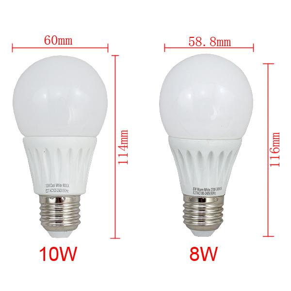 10x 2w 10w e27 e14 led bulb birne strahler spot lampe leuchtmittel gl hlampe ebay. Black Bedroom Furniture Sets. Home Design Ideas